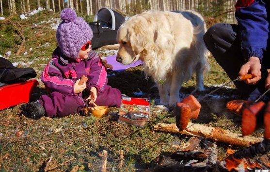 forest-trip-dog-child