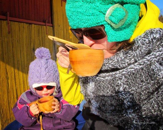 sunny-day-drinking-hot-juice
