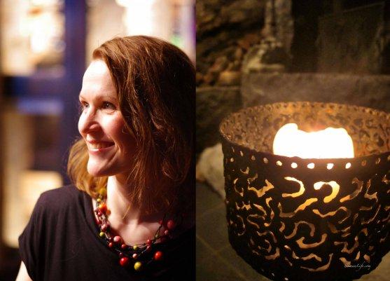 Mari from saimaalife and candle
