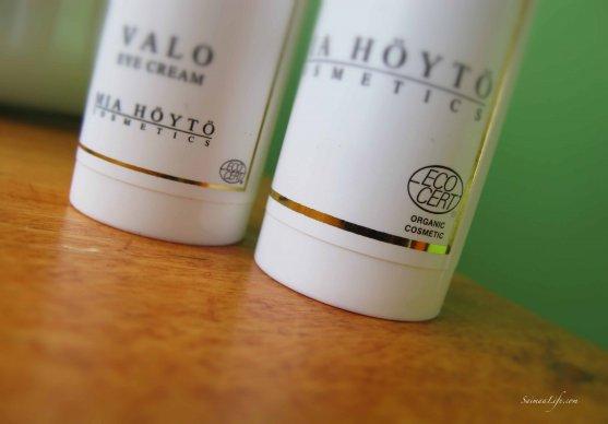 Organic cosmetics valo eye cream by mia hoyto