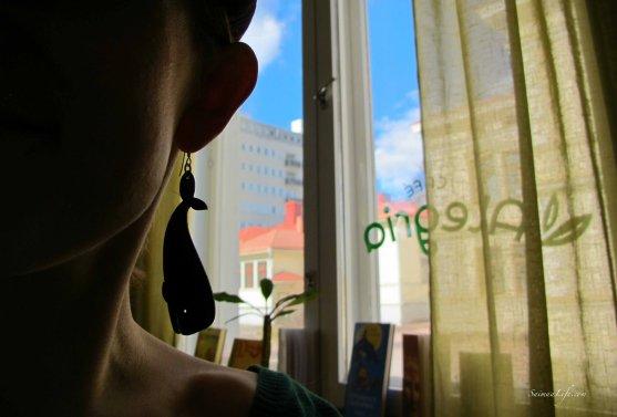 Cafe Alegria window