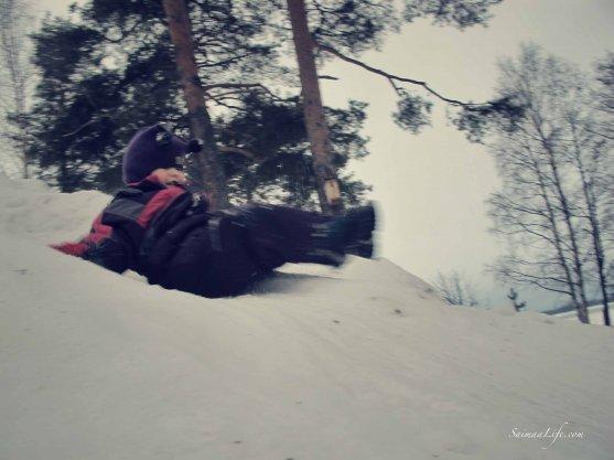 child-sliding