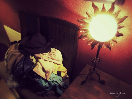 lamp-and-clothes