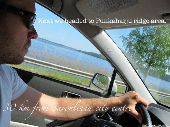 driving-to-punkaharju-ridge-area