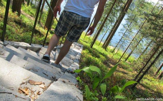 stairs-in-punkharju-nature-trail