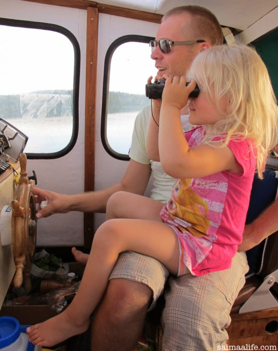 father-and-daughter-boating-together