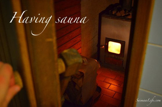 having-sauna