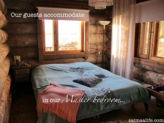 master-bedroom-in-finnish-log-cottage