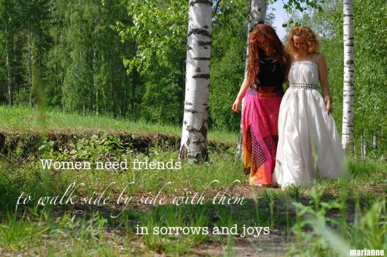 women-need-friends-to-walk-side-by-side-with-them-in-sorrows-and-joys