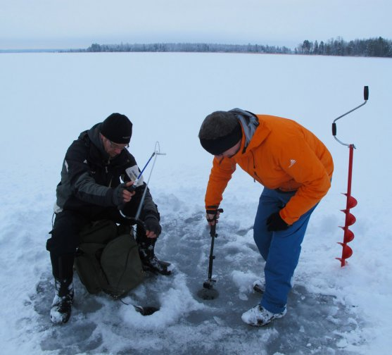 henri-and-peter-making-go-pro-video-about-ice-fishing