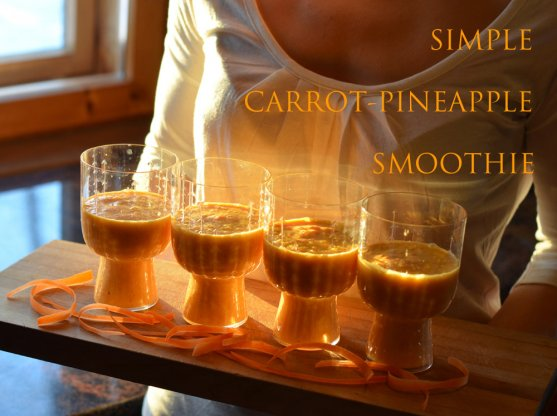 simple-carrot-pineapple-smoothie