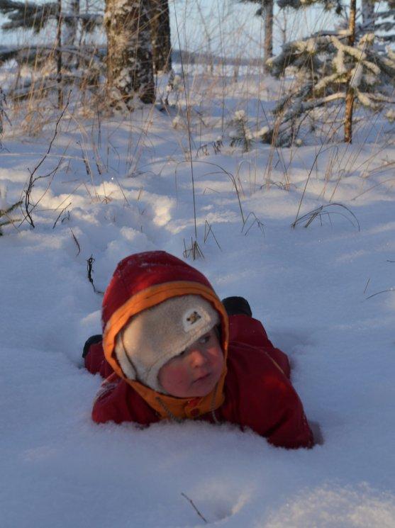 child-in-snow