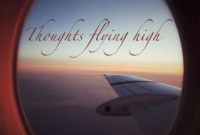 Thoughts flying high