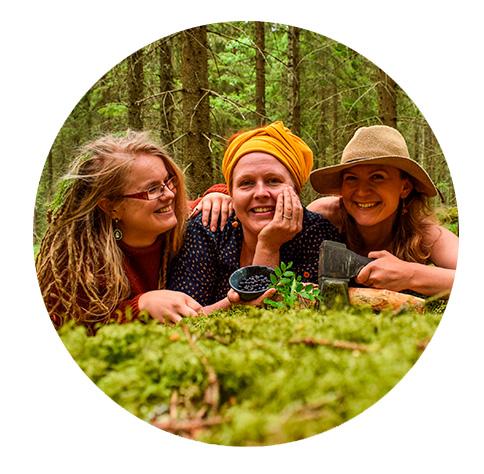 Marianne, Stiina & Mari - Saimaalife