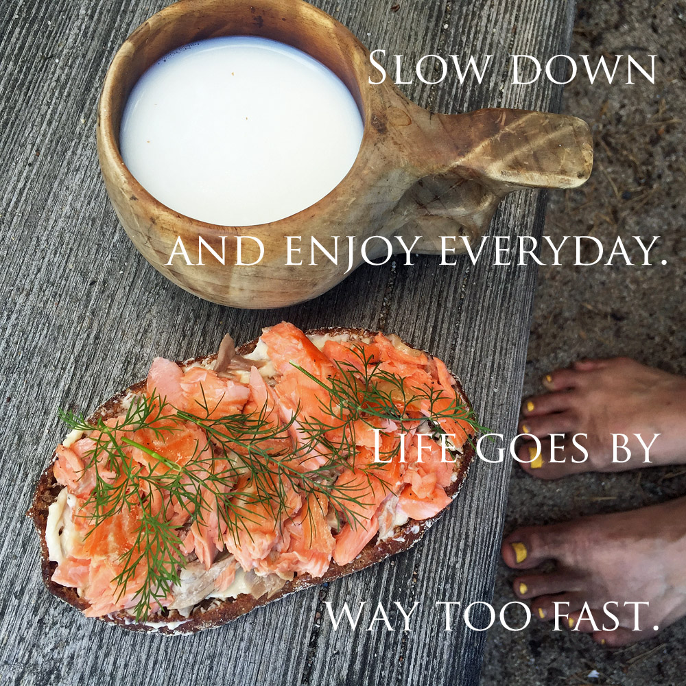 short essay on calm down fast life