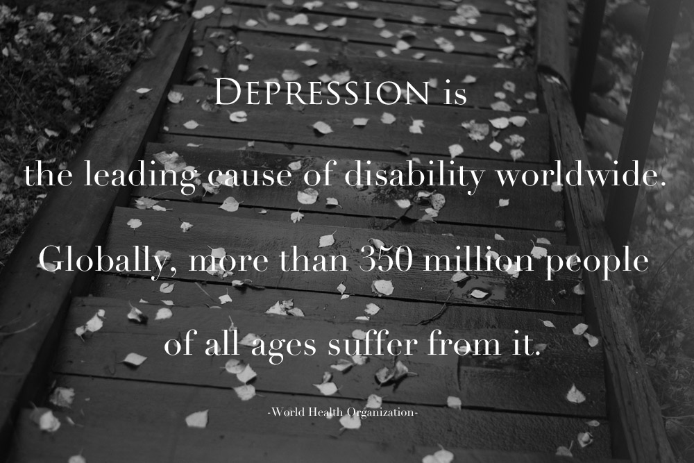 depression is the leading cause of disability worldwide