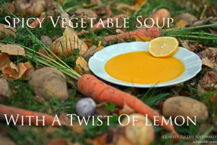 Recipe For Spicy Vegetable Soup With A Twist Of Lemon