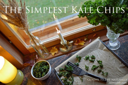 Recipe For The Simplest Kale Chips