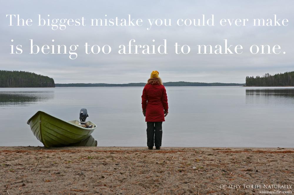 Big Mistake Or Life Lesson Saimaalife