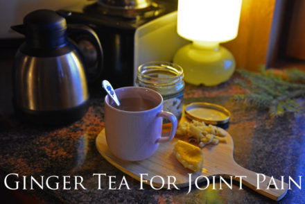 Recipe For Pain Relief Ginger Tea