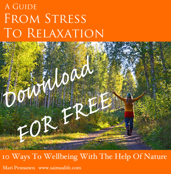 Download free content: 10 ways to wellbeing with the help of nature