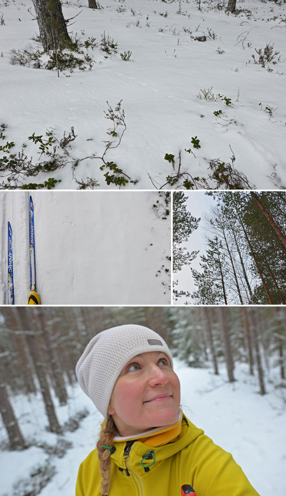 Cross-country skiing in Saimaa, Finland