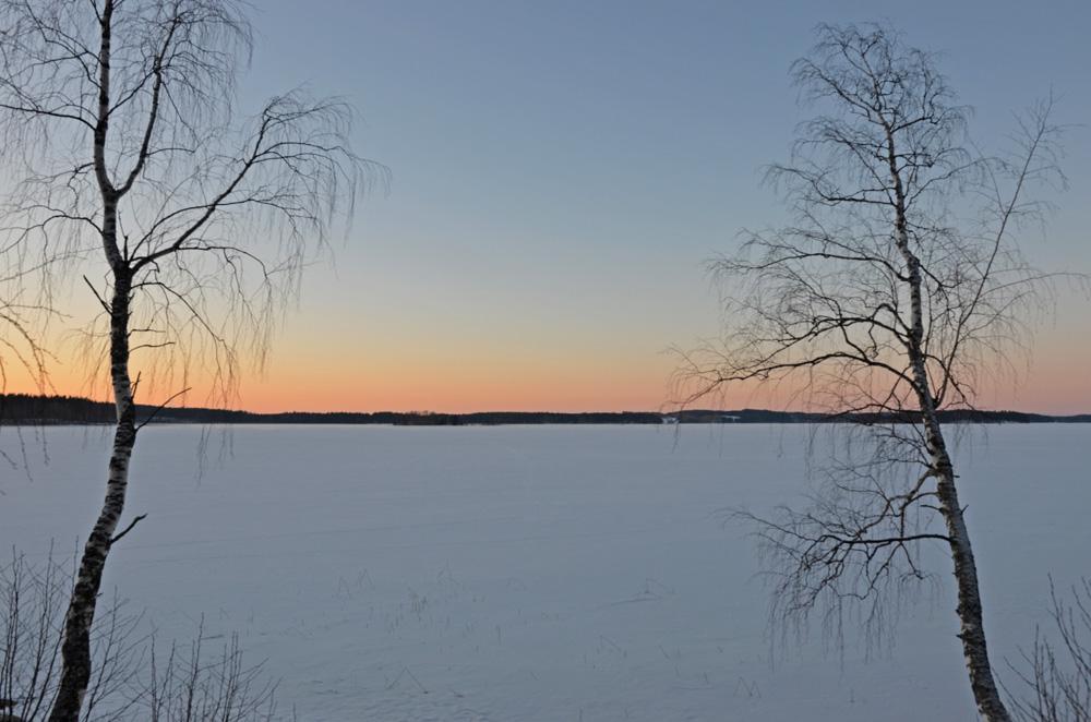 Frozen lake in Finland - SaimaaLife.com