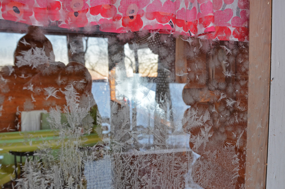 Frosty window - SaimaaLife.com