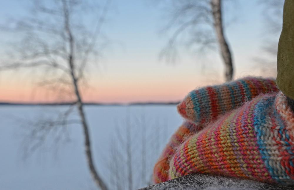 Winter scenery in Finland - SaimaaLife.com