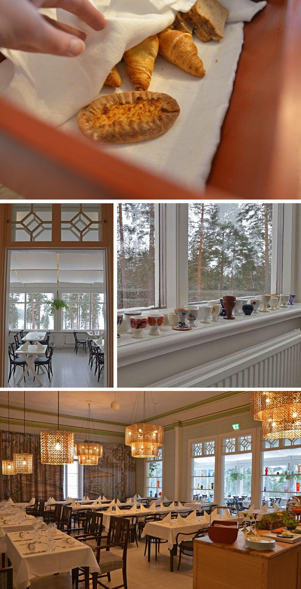 Dining room of Hotel Punkaharju - Travel - SaimaaLife.com