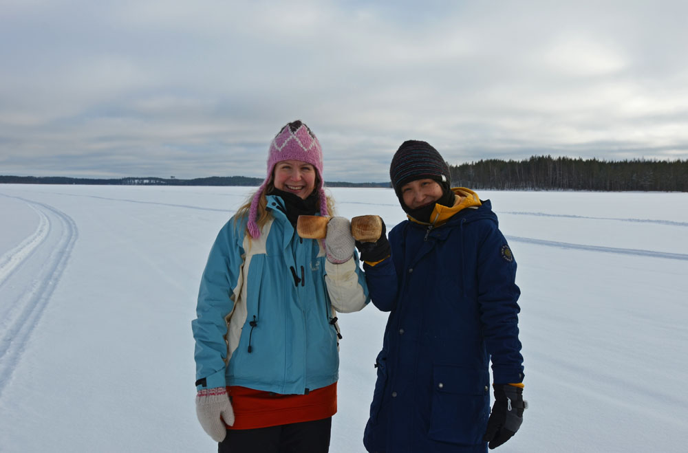 Kippis, cheers and kanpai to pure Saimaa lake nature!