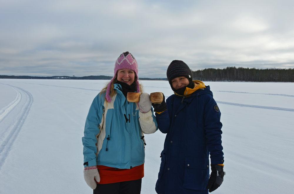 Kippis, cheers and kanpai to pure Saimaa lake nature!