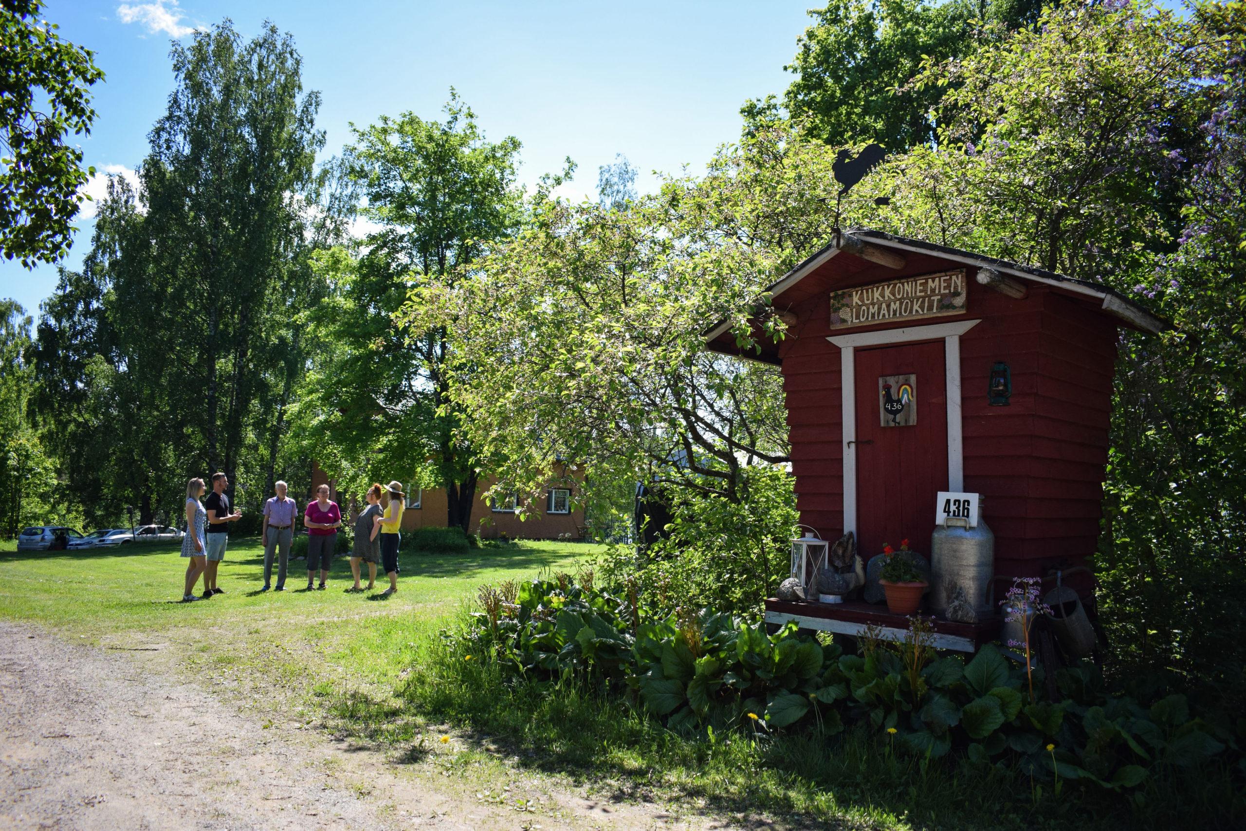 Kukkoniemen Lomamökit rental cottages travel company in Punkaharju, Saimaa