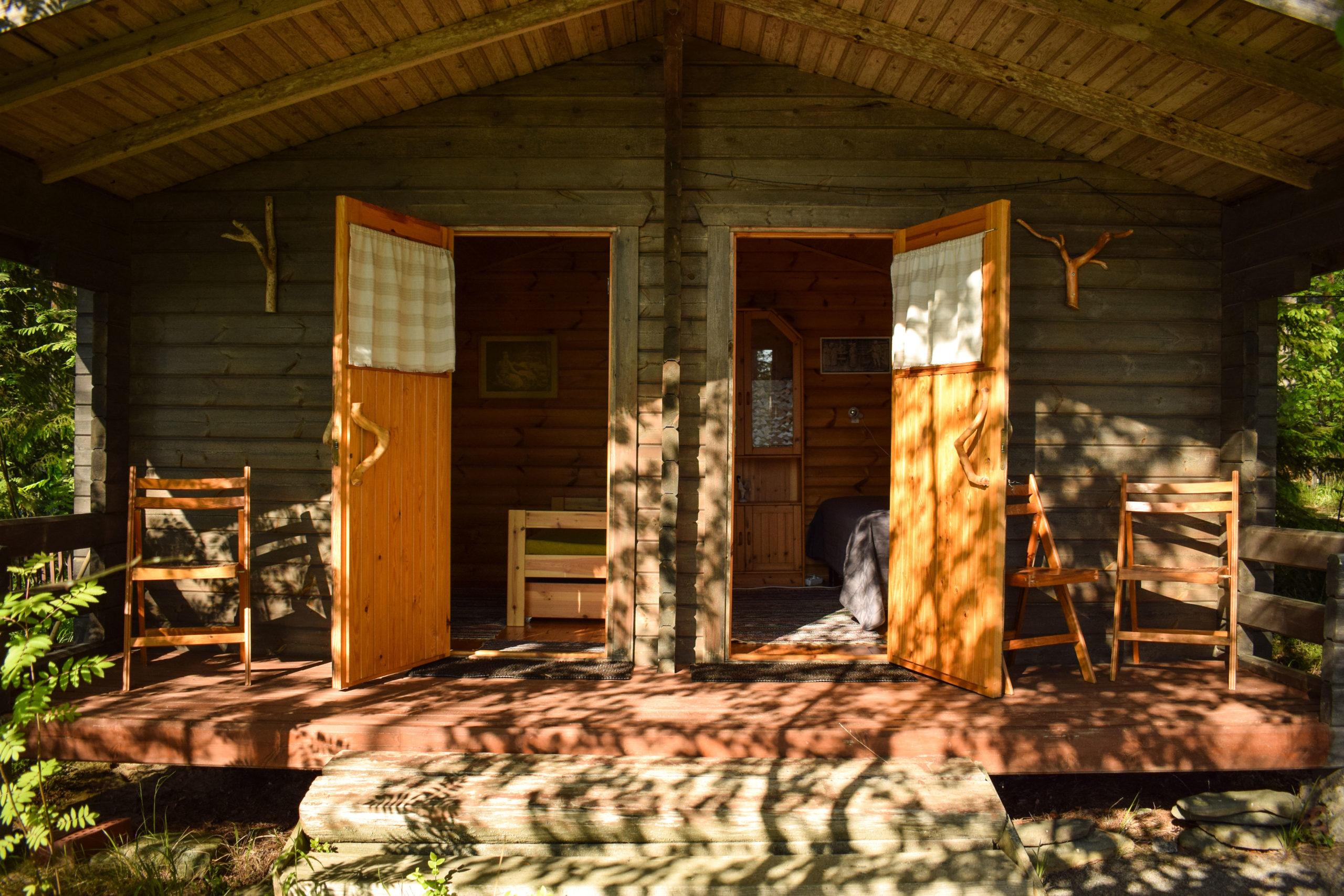 Kukkoniemen Lomamökit rental cottages in Punkaharju, Saimaa