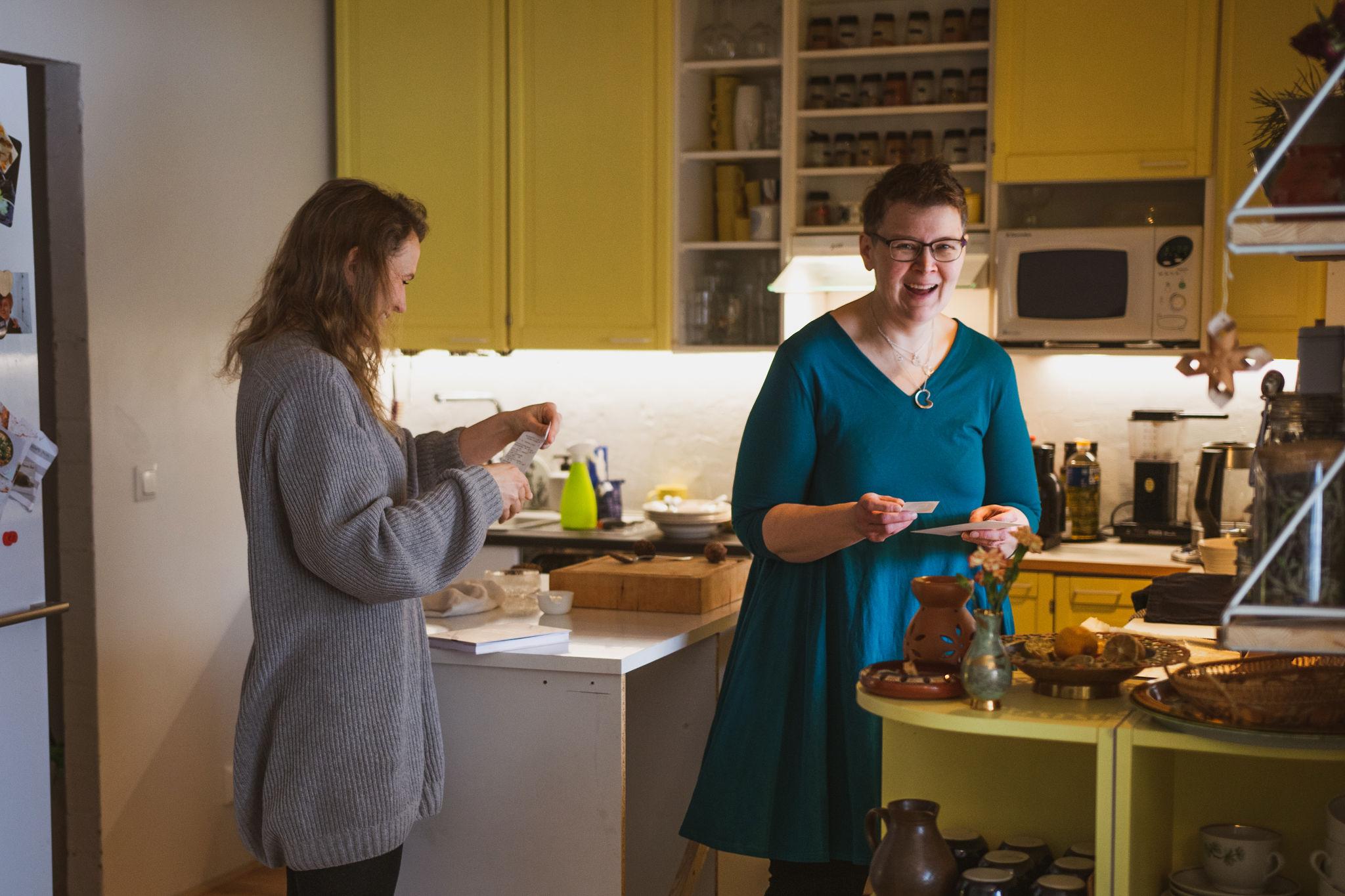 "Paula Huovinen developer of our simple recipe of Finnish rye cracker, ""Näkkäri"""