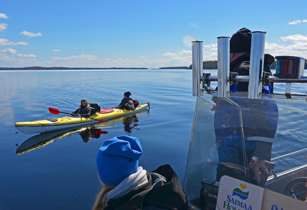 SaimaaHoliday lake safari in Linnansaari national park, Saimaa, Finland