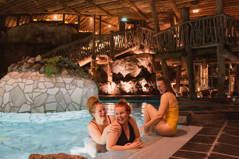 saimaaLife ladies at Lake Spa of Järvisydän in Rantasalmi, Saimaa, Finland