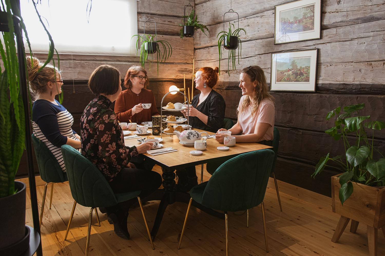 Teahouse of Wehmais in Juva, Saimaa, Finland