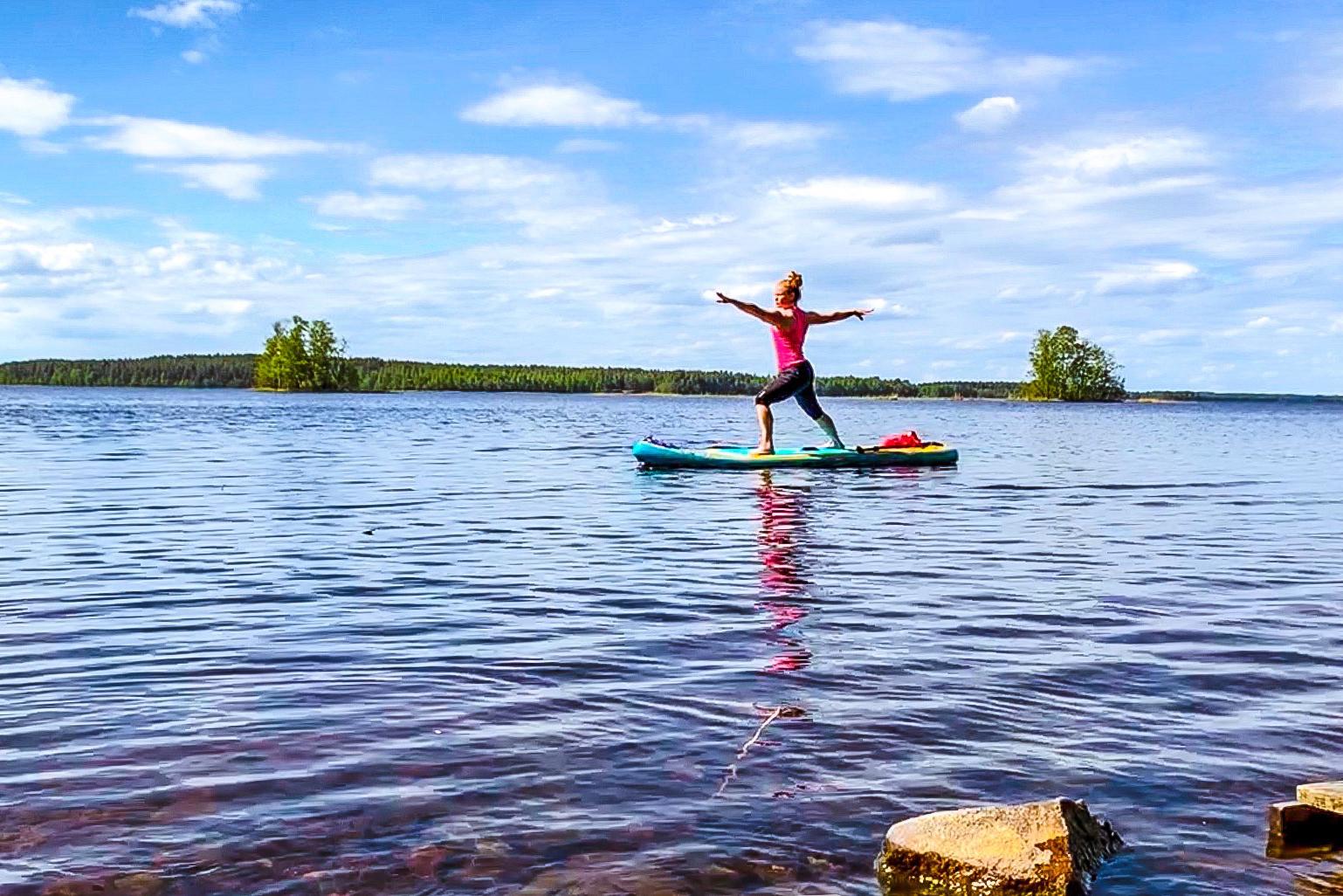 Yoga Saimaa Tanja in Rantasalmi, Saimaa, Finland