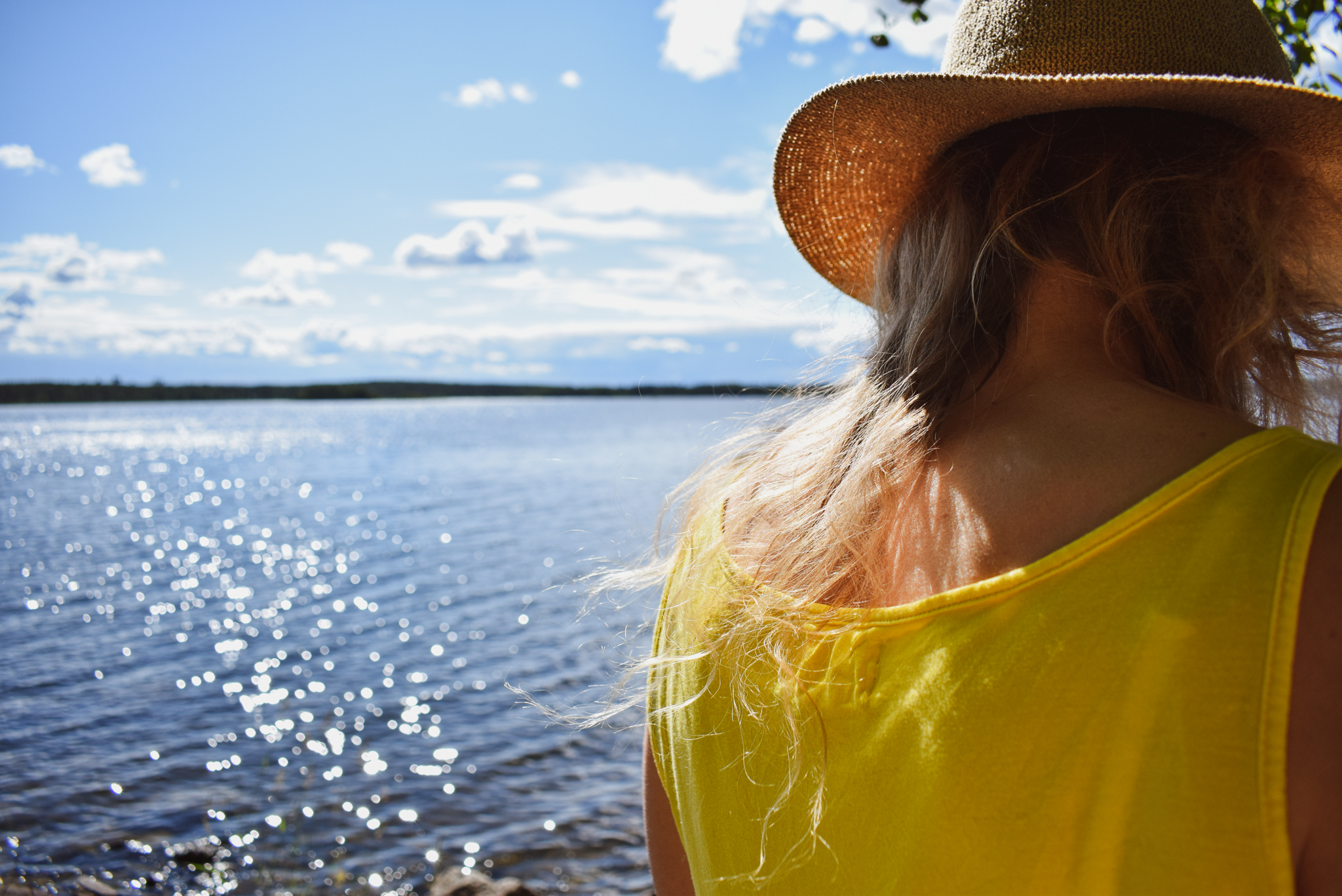 Finnish summer ways to connect with nature and yourself by enjoying the warmth of the sun