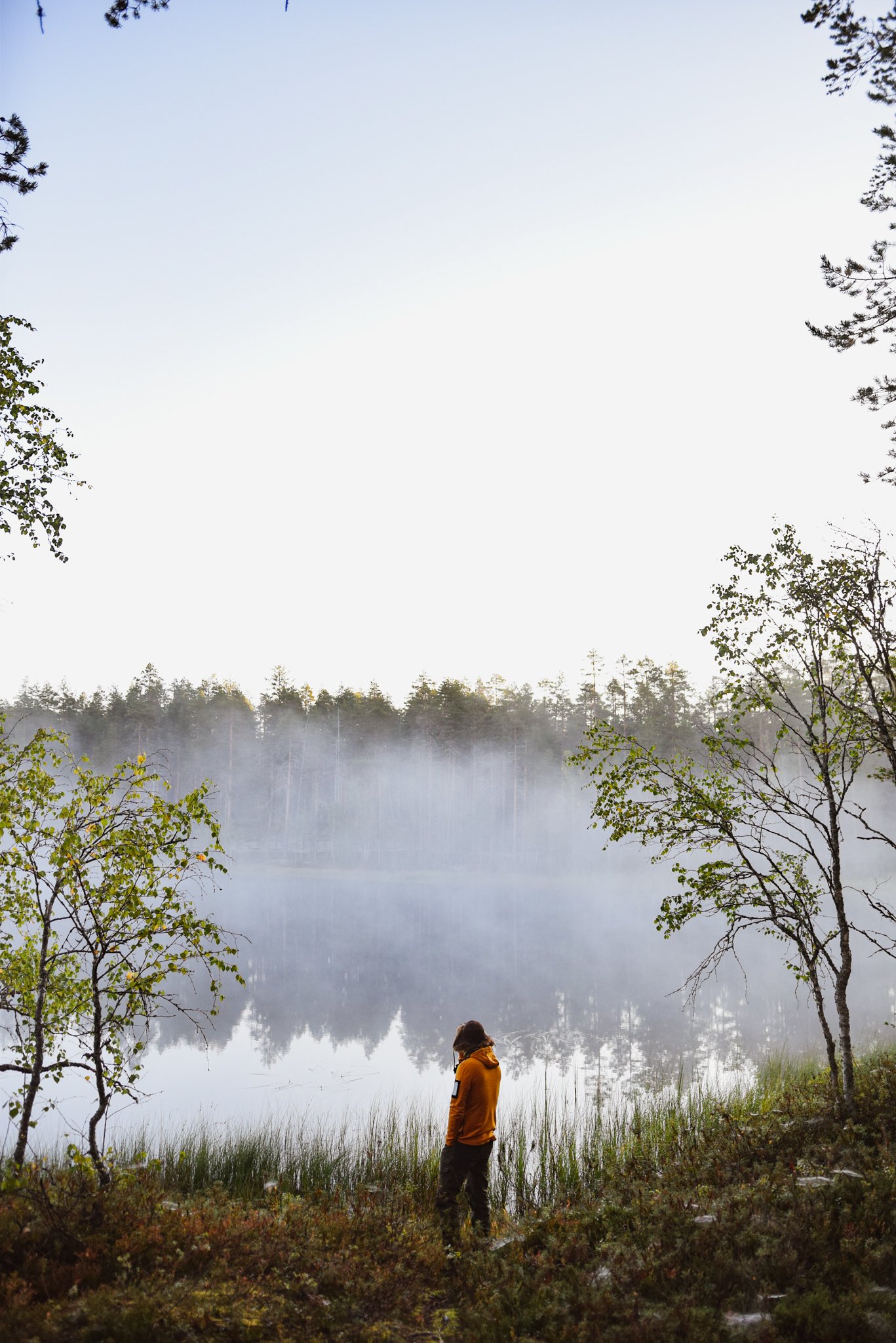 Finnish summer ways to connect with nature and yourself by doing morning routines outdoors