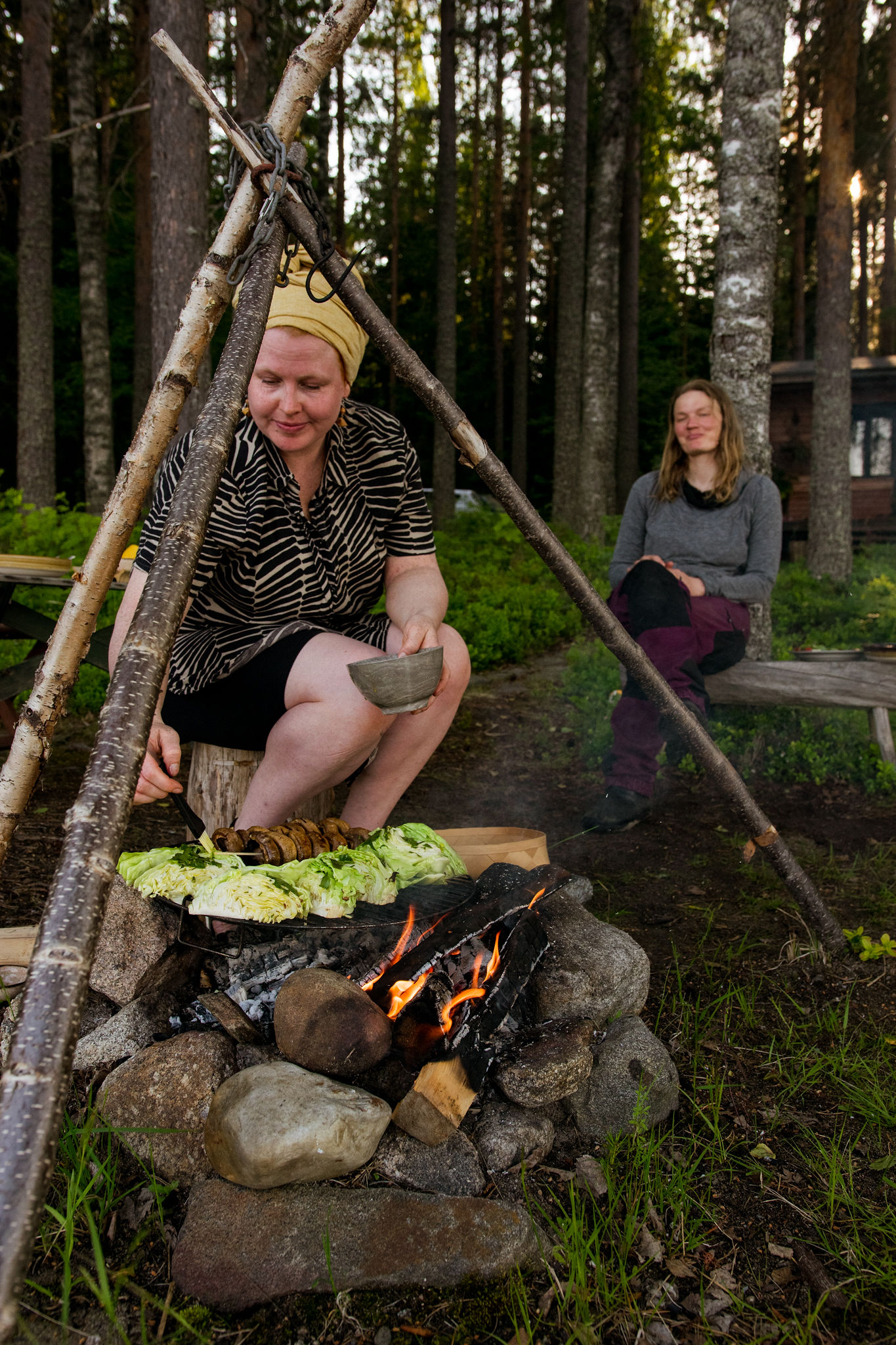 Grilling with Maija